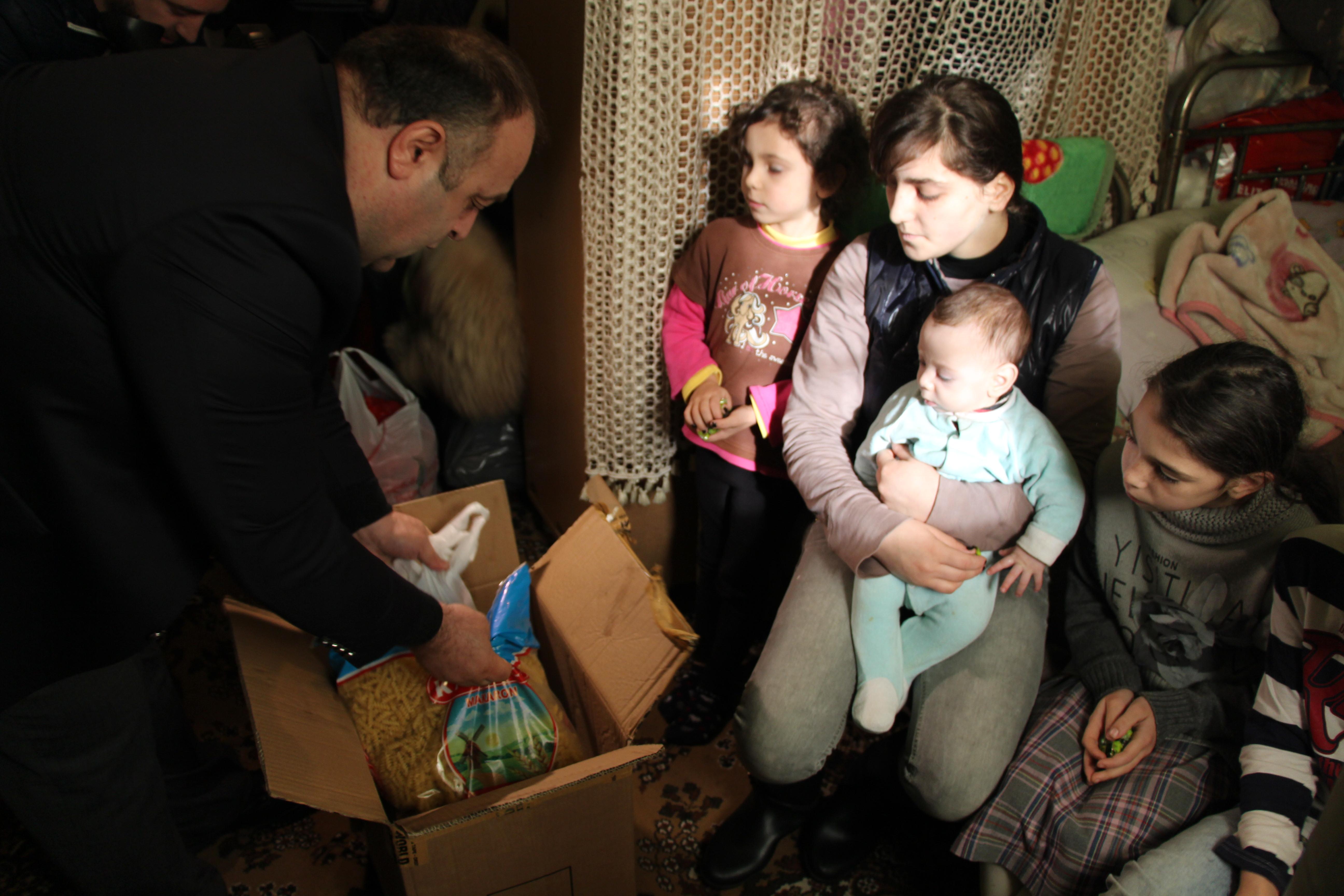 დახმარება მრავალშვილიან ოჯახებს
