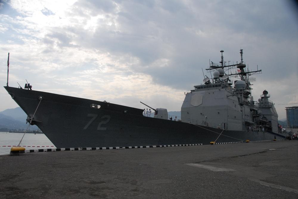 """აშშ-ის საზღვაო ფლოტის გემი """"ველა გალფის"""" ვიზიტი"""