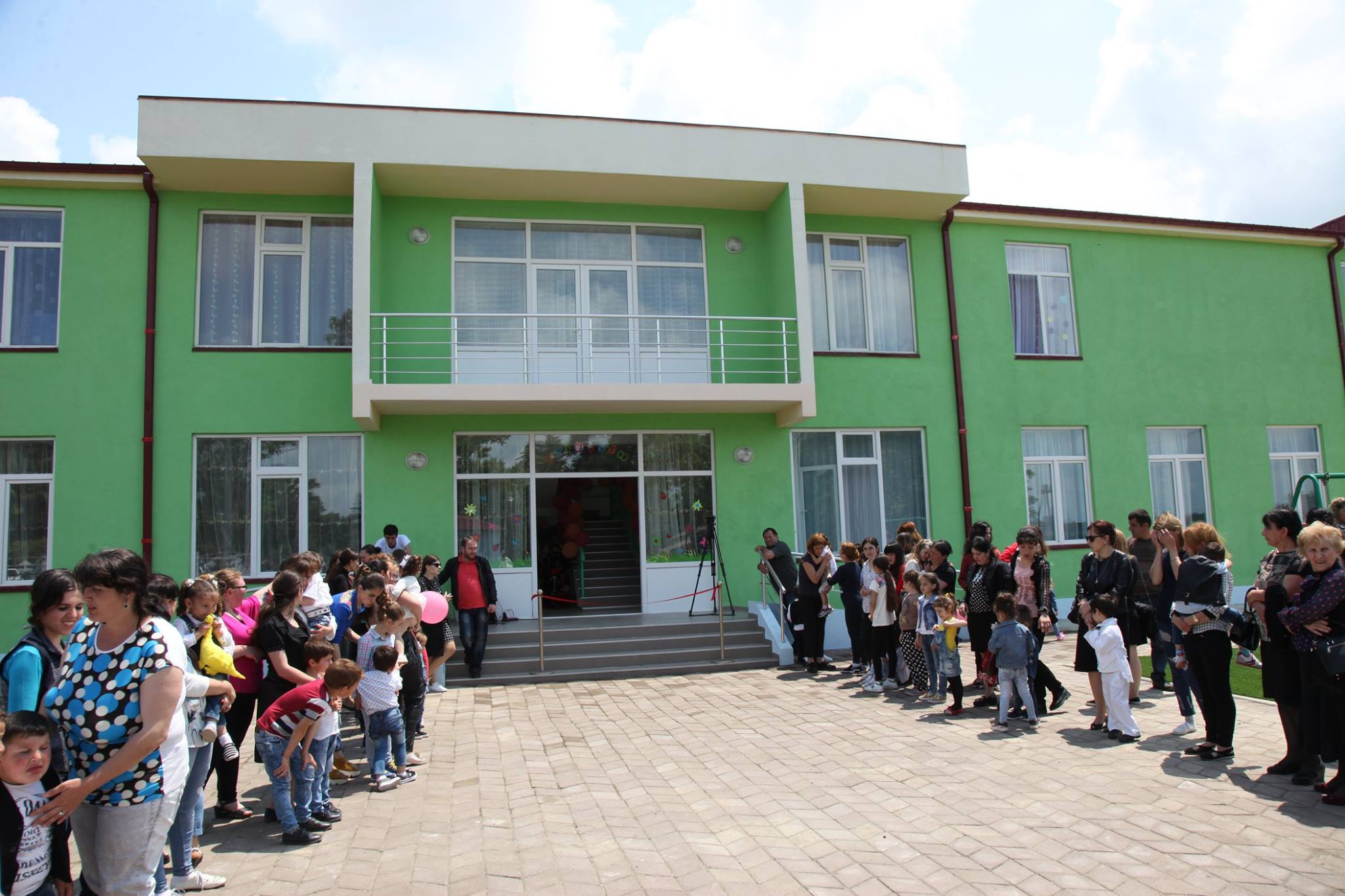 გელაურის დასახლებაში ახალი საბავშვო ბაღი გაიხსნა