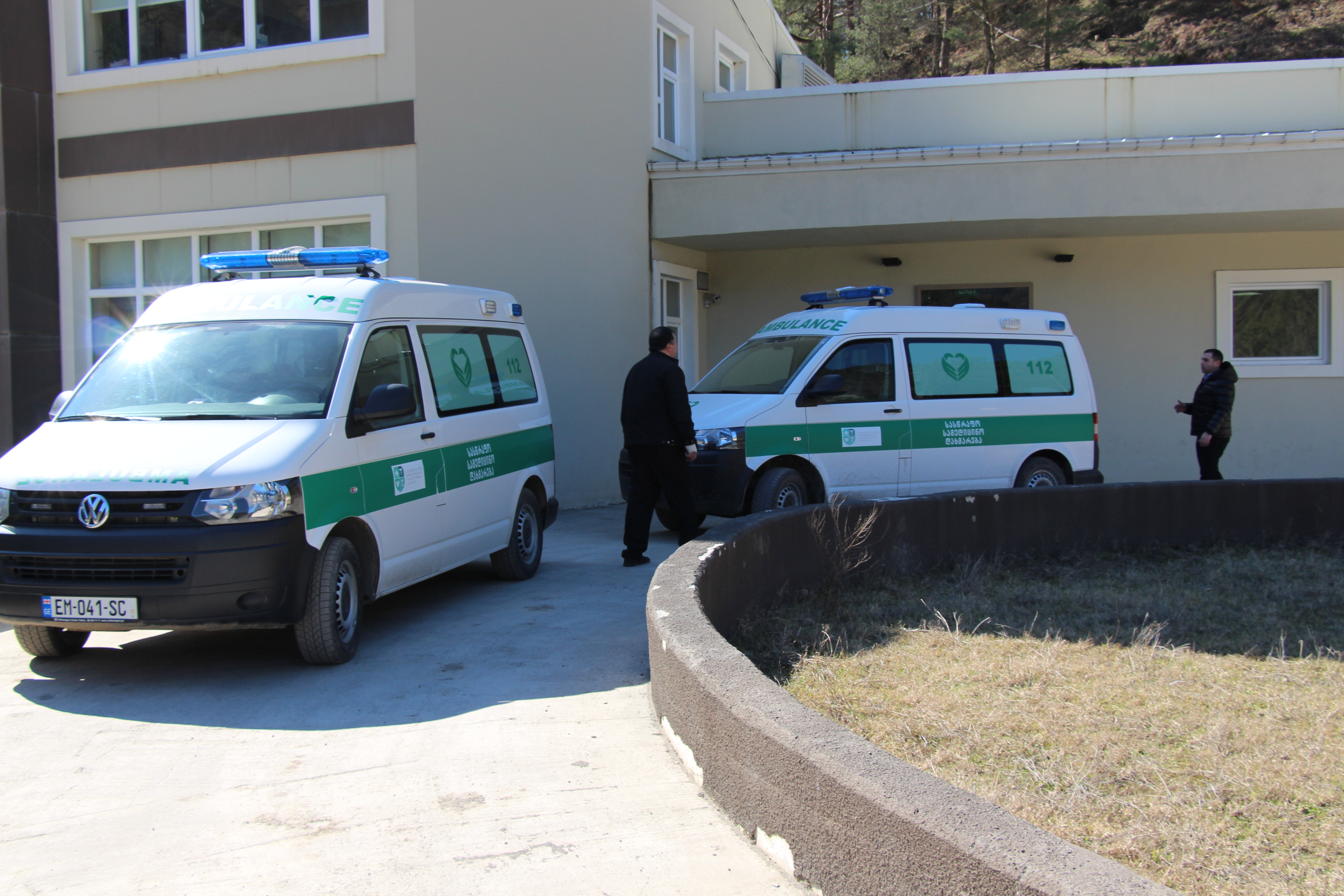 შეხვედრები მაღალმთიანი აჭარის სასწრაფო სამედიცინო დახმარების ცენტრებში