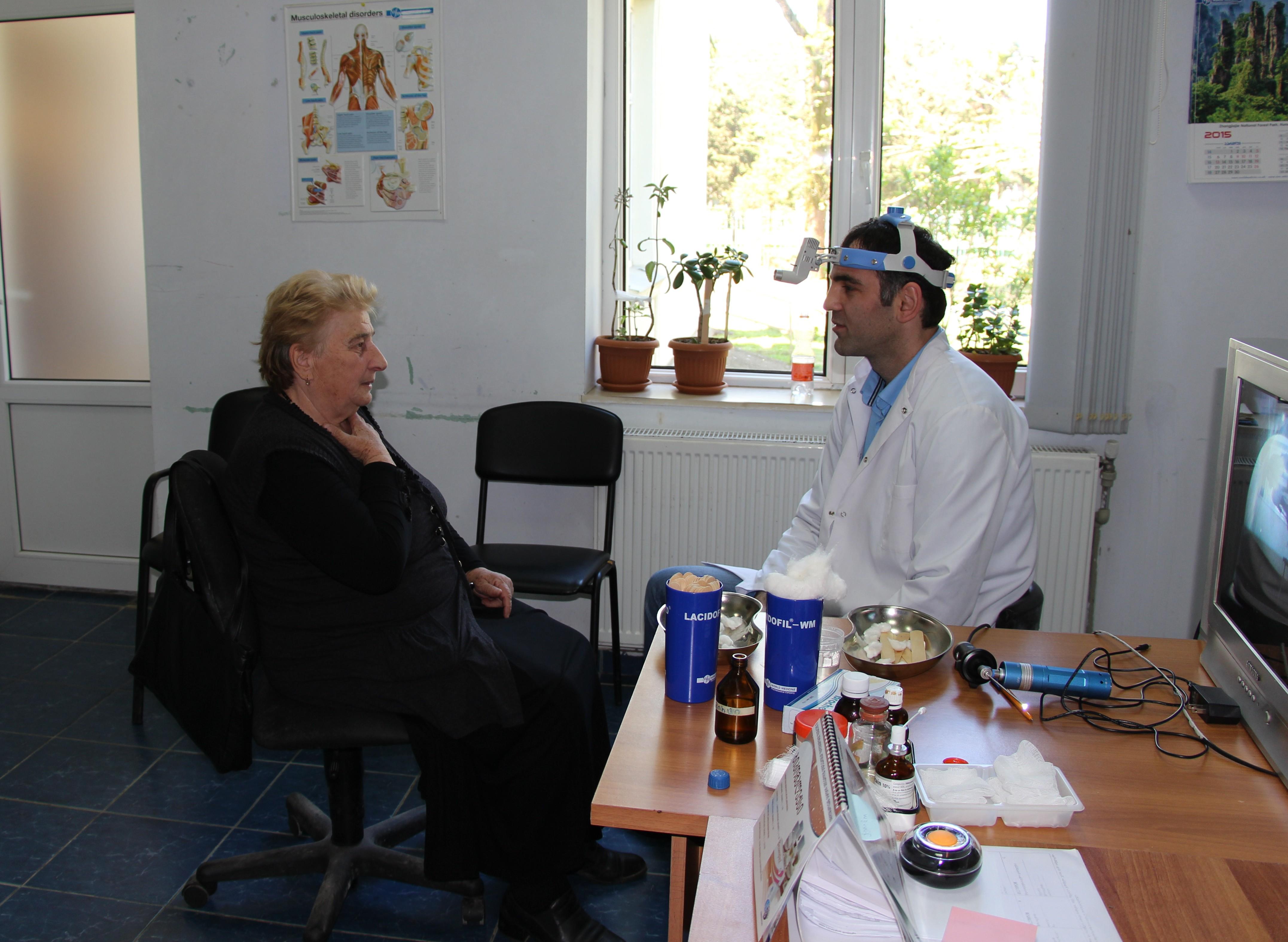 ქობულეთში უფასო სამედიცინო მომსახურება 218 პაციენტს გაეწია